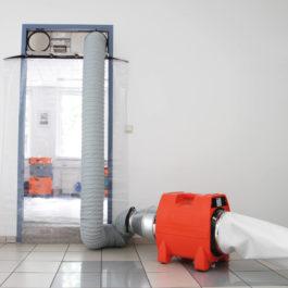 Staubschutzsystem DCS-PV 3000