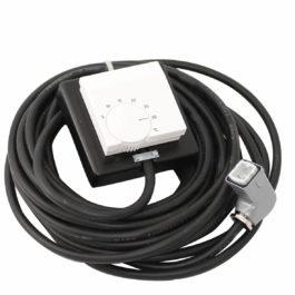 1240075 | Raumthermostat + 5 °C bis + 30 °C mit Kabel und Stecker