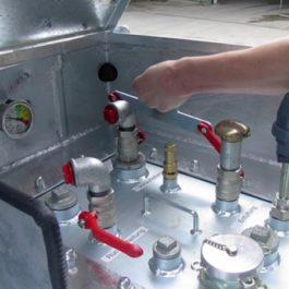 Mobiler IBC Kraftstoffbehälter Typ K1000L